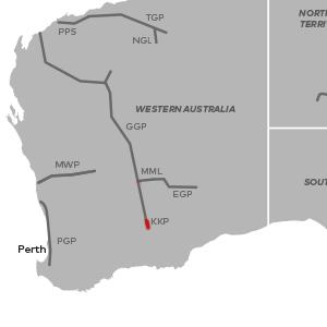 Australia Map Kalgoorlie.Kalgoorlie Kambalda Pipeline Apa Group