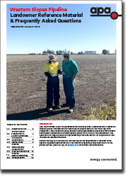 WSP Landholders' FAQ preview image